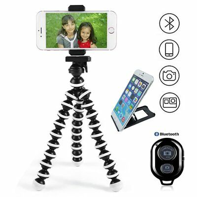 Adjustable Cell Phone Smartphone Camera iphone Tripod Stand W/ Remote Shutter