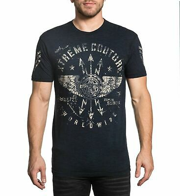XTREME COUTURE by AFFLICTION Men T-Shirt STRIKE DOWN Tattoo Biker MMA UFC $40