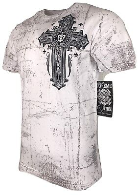 XTREME COUTURE by AFFLICTION Men T-Shirt BOUND FOR GLORY Biker MMA UFC S-4X $40