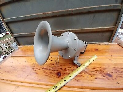 vintage electric horn ship boat car nice condition