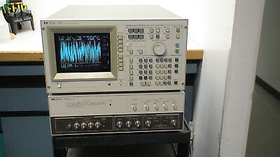 HP 4195A 110 Hz - 500 MHz Network/Spectrum Analyzer op:001