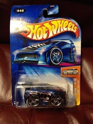 Mattel HOT WHEELS 2004 First Editions 40/100 BLINGS OUT_A_LINE