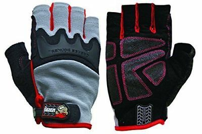 Grease Monkey Pro Fingerless Gloves (X-Large) ~ Free Shipping ~ New with Tags