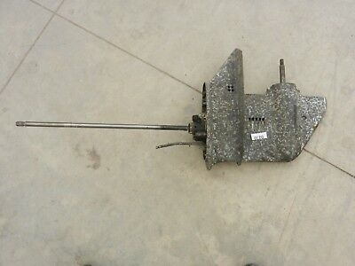9.9 HP Johnson Evinrude outboard long shaft lower unit 230