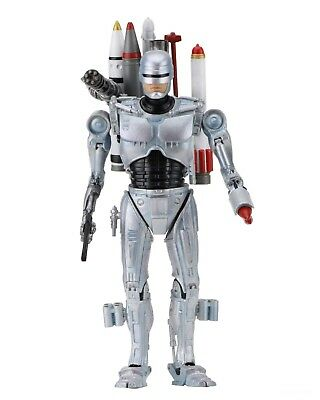 "RoboCop vs The Terminator 7"" Scale Action Figure - Ultimate Future RoboCop NECA"