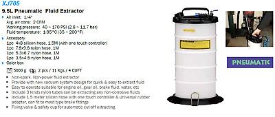 Liquidation - 9.5 Liter Pneumatic Fluid Extractor XJ705