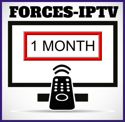 1 Month - Iptv Subscription - 9000+ Channels + Vod | Smart Iptv | Mag Box |