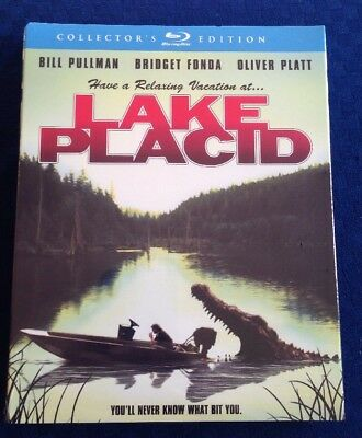 Lake Placid (Blu-ray Disc, 2014, Collectors Edition) NEW OOP RARE SLIPCOVER