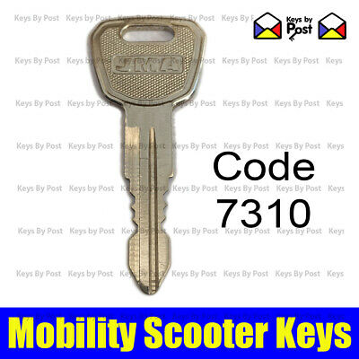 7310 Spare Key For Dma Merit Roma Medical Rascal Vision, Lyon Mobility Scooter