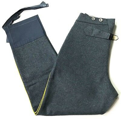 Wwi French M1915 Sky Blue Wool Combat Field Trousers-4Xlarge