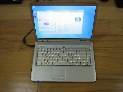 Dell Inspiron 1525 Red Laptop 250GB HD 1.6GHz 1GBRAM Bad Battery w/Cord - Works!
