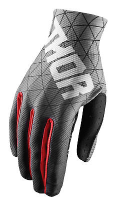 THOR MX Motocross Men's 2018 VOID Vawn Gloves (Black/Red) Choose Size