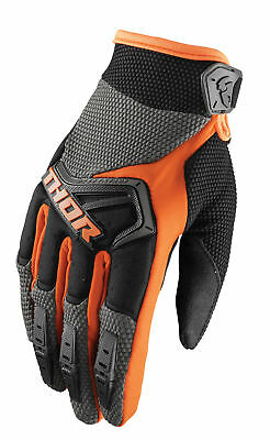 THOR MX Motocross Kids 2018 SPECTRUM Gloves (Charcoal/Orange) Choose Size