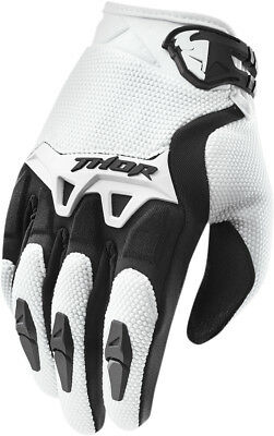 THOR MX Motocross 2015 SPECTRUM Gloves (White) Choose Size