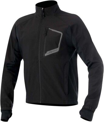 ALPINESTARS TECH Windproof Layering Jacket w/Thermal Lining (Black) Choose Size