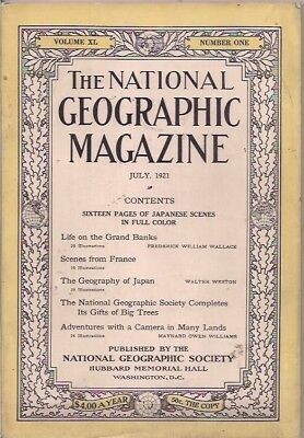 national geographic-JUlY 1921-THE GEOGRAPHY OF JAPAN.
