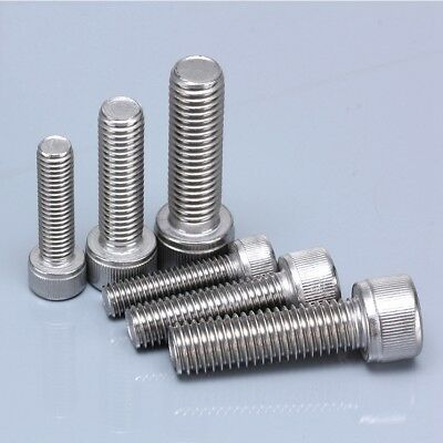 M3 M4 M5 M6 M8  Coarse Socket Head Cap Screw Allen Bolts Marine Stainless G316