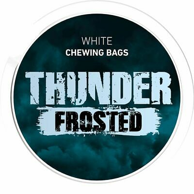 5x Dose Thunder Frosted Chewing Bags 17,6g Kautabak