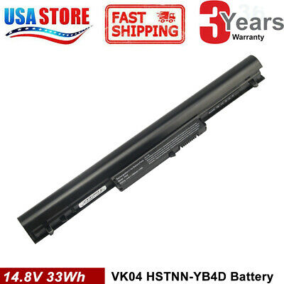 37WH Battery 695192-001 HSTNN-YB4D VK04 for HP pavilion Sleekbook 14 15
