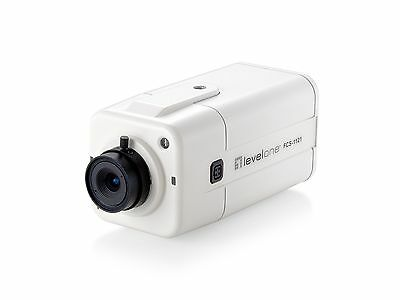LevelOne 1.0MP IP Box Camera With PoE - FCS-1121