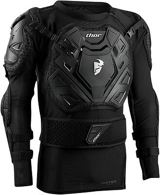 THOR MX Motocross SENTRY XP Roost Guard Jacket (Choose Size)