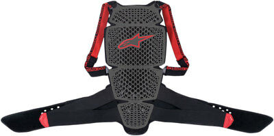 Alpinestars Nucleon KR-Cell Back Protector CE Level 1 (Black/Red) Choose Size