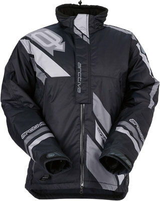 ARCTIVA Snow Snowmobile Men's 2017 COMP Insulated Jacket (Black) Choose Size