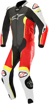 Alpinestars MISSILE Suit Tech-Air Compatible (Black/White/Flo Red/Flo Yellow)