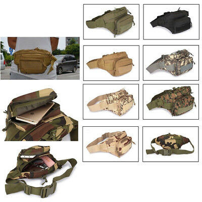 Tactical Waist Pack Pouch Military Camping Hiking Outdoor Fanny Bag Belt Bags