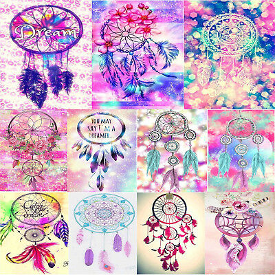 5D DIY Diamond Painting Dream Catcher Embroidery Cross Crafts Stitch Decro Home