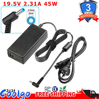 HP 45W AC Adapter Charger Compatible 740015-002 741727-001 Laptop Power Supply