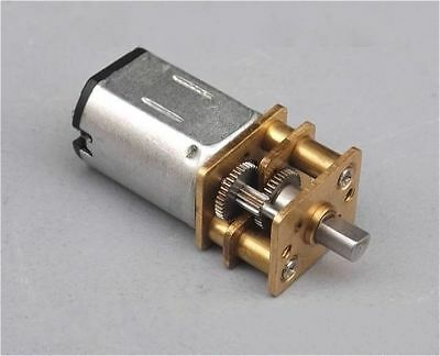 1pc N20 DC3-9V 30mA 1200RPM Gear DC Motor with Alloy Steel Full Metal Gearbox