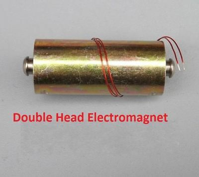 DC24V 6A Double Heads Automatic Reset Push-Pull Solenoid Electromagnet For DIY