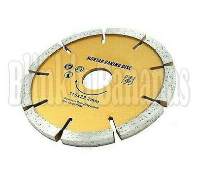 "Thick 4.5"" Angle Grinder Diamond Mortar Masonry Joint Raking Raker Disc Blade"