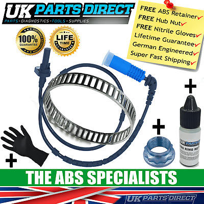 Bmw X3 Abs Reluctor Ring + Abs Sensor Kit (E83) Rear - Abs3009