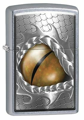 "Zippo ""Dragon Eye"" Street Chrome Finish Lighter, 8566"