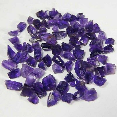 100%Natural-1St-Grade-Cleaning Color For Cut small Rough-Amethyst Loose Gemstone