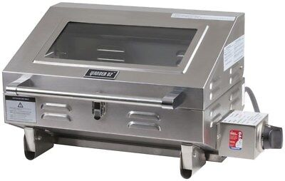 316 MARINE BBQ Portable Boat Camp Gas Barbeque Stainless Steel Caravan Grill