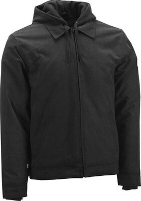 HIGHWAY 21 Men's GEARHEAD Textile Riding Jacket/Hoody (Black) Choose Size