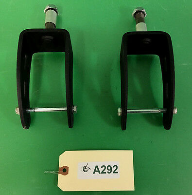 Rear Caster Forks for Hoveround MPV5 Power Wheelchair -EXCELLENT CONDITION #A292