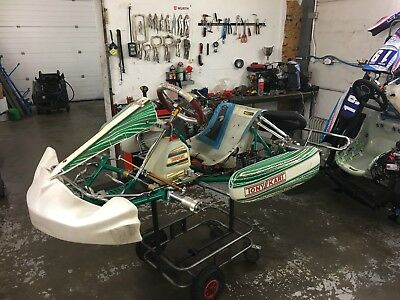 Tonykart Racer 2010 complete with Rotax engine