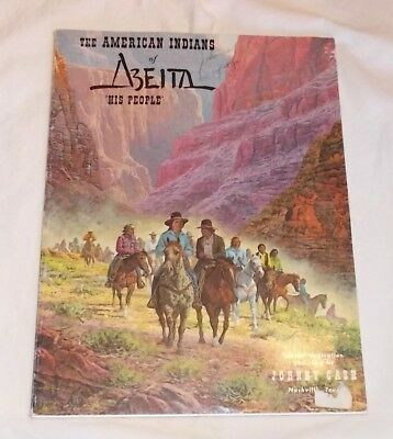 Vintage '76 Booklet-American Indians of ABEITA..His People-Johnny Cash Orig Song