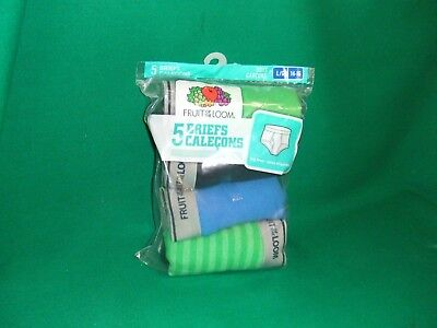 Fruit of the Loom boys  Briefs Pack of 4, Size L/G (14-16), open bag