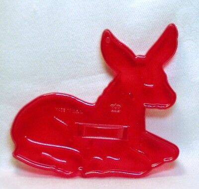 Vintage Design New Cookie Cutter - Donkey Laying Burro Farm Christmas Nativity