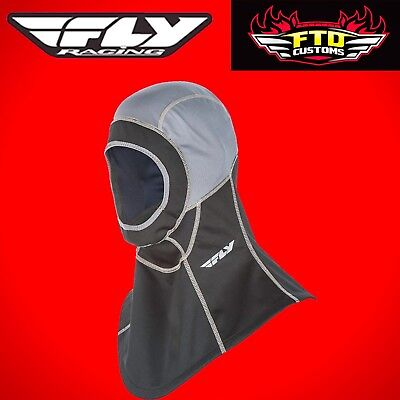 Fly Racing Ignitor Air Open Face Snowmobile Balaclava ATV UTV Dirt Bike 48-1085