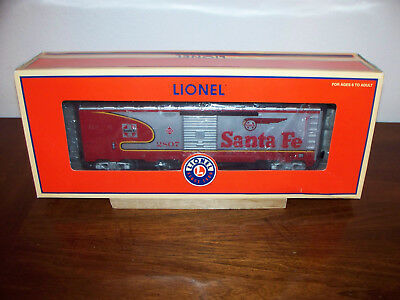 Lionel Train #52477 Lots Santa Fe War Bonnet Box Car