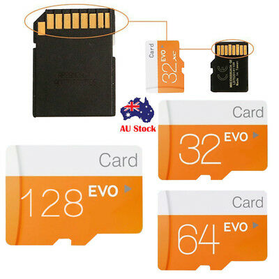 For SAMSUNG Micro SD Card Class10 Memory microSD 128GB 64GB 32GB TF Cards