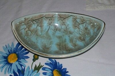 Holland Delft Lustre Ware Candy or Nut Dish Hand Painted 1950's?? Excellent!!!