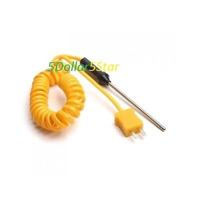 K-type thermocouple 3inch probe thermometer -50°C to 300°C