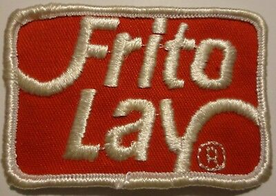 Vintage Frito Lay Embroidered Patch